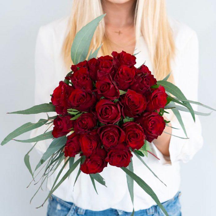 Bouquet rose rosse signorelli shop