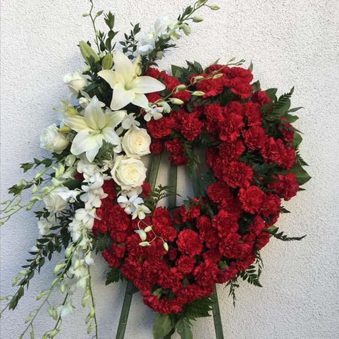 cuore funebre
