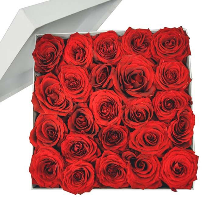 scatola rose 25
