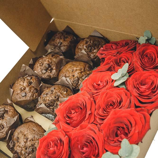 8 muffin 11 rose