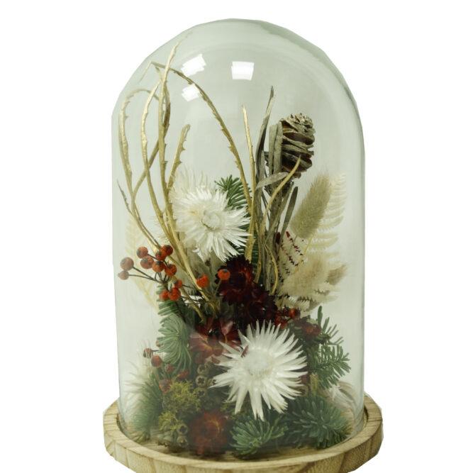 campana di fiori secchi natalazia