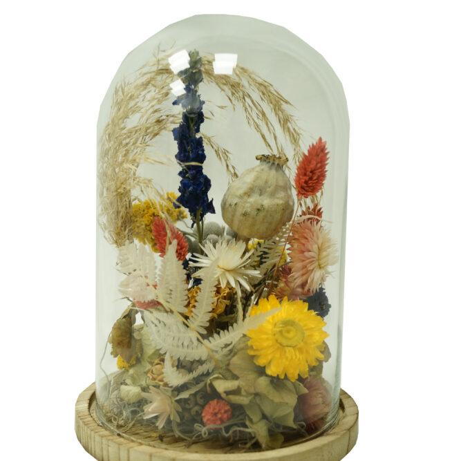 campana di fiori secchi