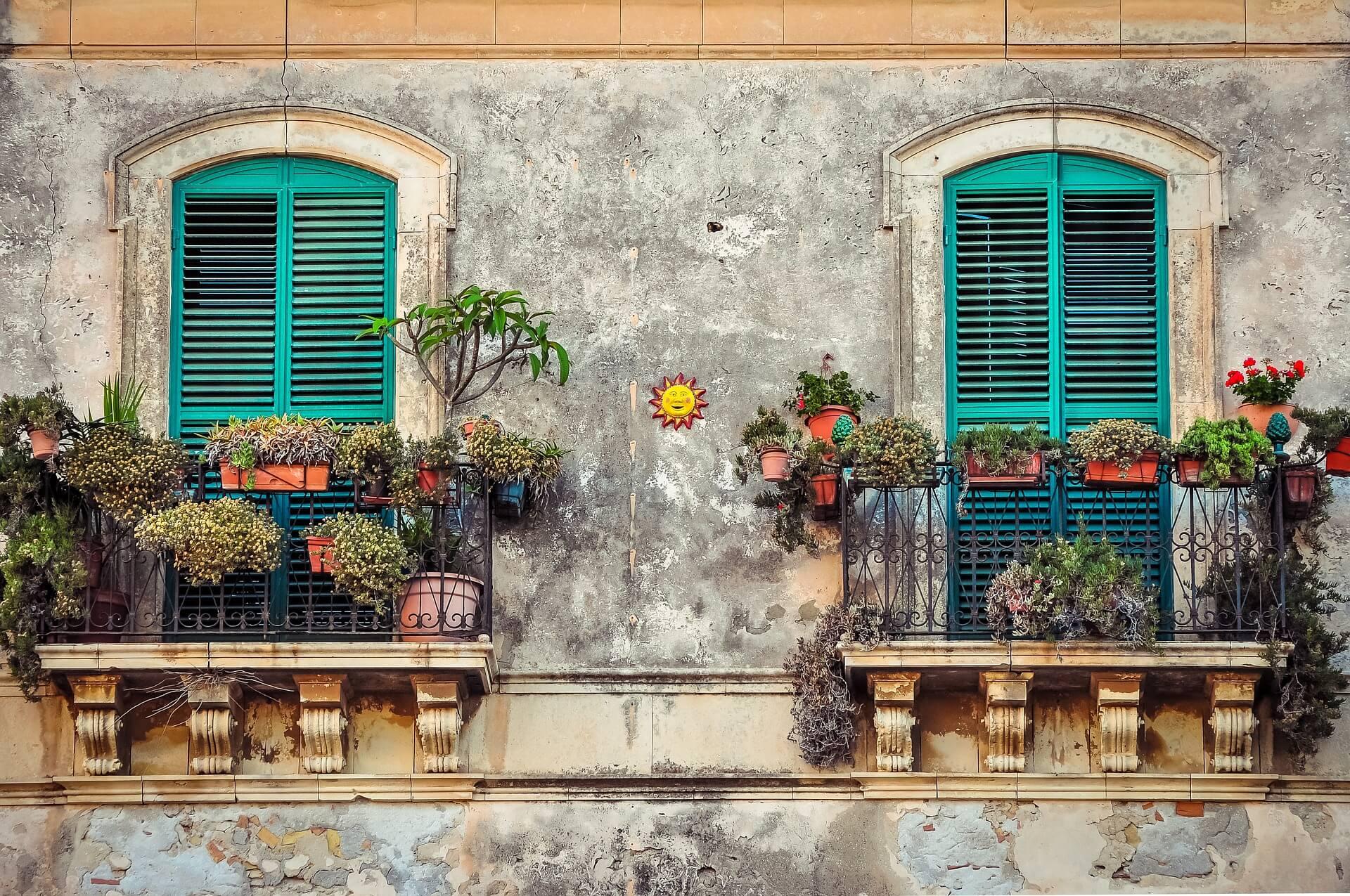 Balcone in primavera